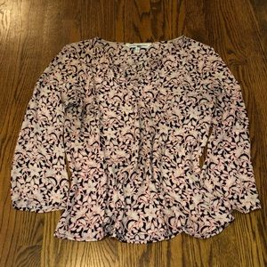 cupcakes and cashmere Patterned Blouse